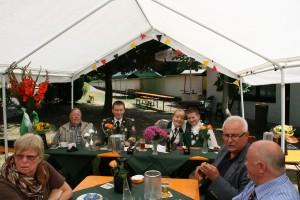 Schützenfest 2014 Königsfrühschoppen