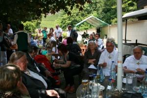 Schützenfest 2014 gesellige Runde Sonntag Homepage