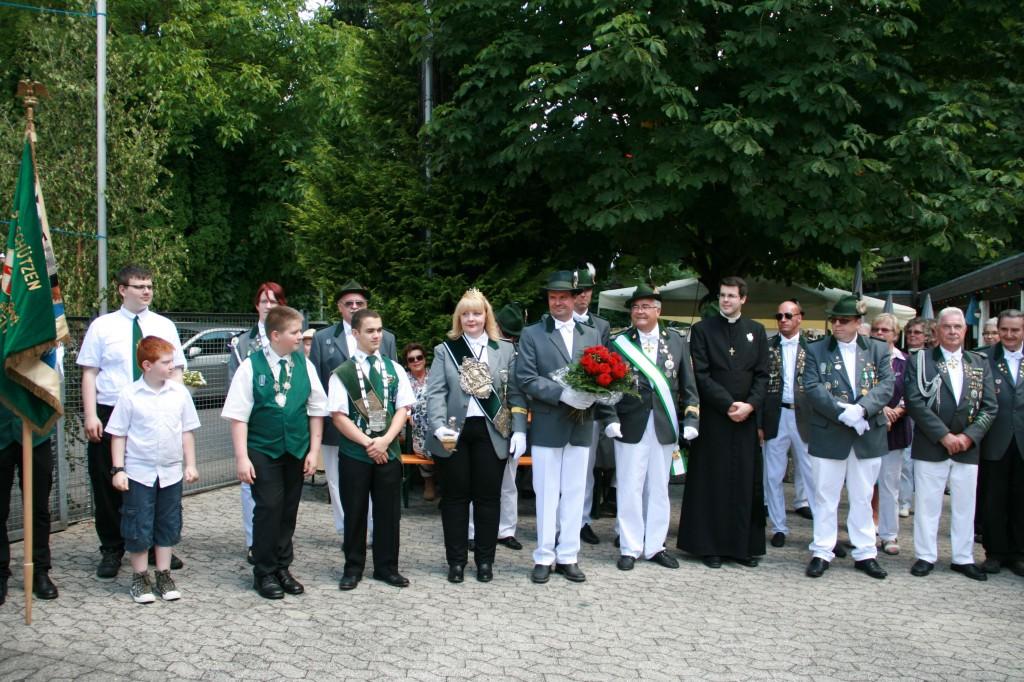 Schützenfest Ehrenbreitstein 2014 Majestäten Presse